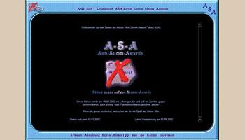 Sreenshots ASA History