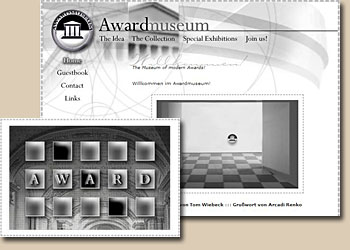 Sreenshots Awardmuseum Version 2