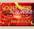 Golden Award for Design, Harry Krüger